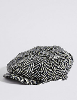 830f3c3f783d1 Pure Wool Baker Boy Hat