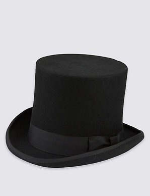 5b52dbc0be176 Pure Wool Top Hat with Stormwear™