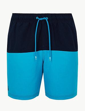 fa926d5e4a Quick Dry Colour Block Swim Shorts | M&S Collection | M&S