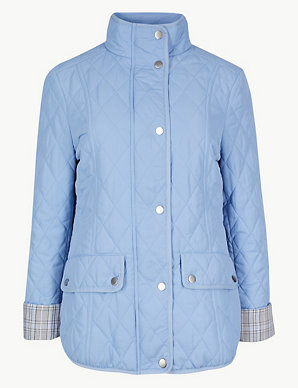 84248a6c1 Quilted & Padded Jacket | M&S Collection | M&S