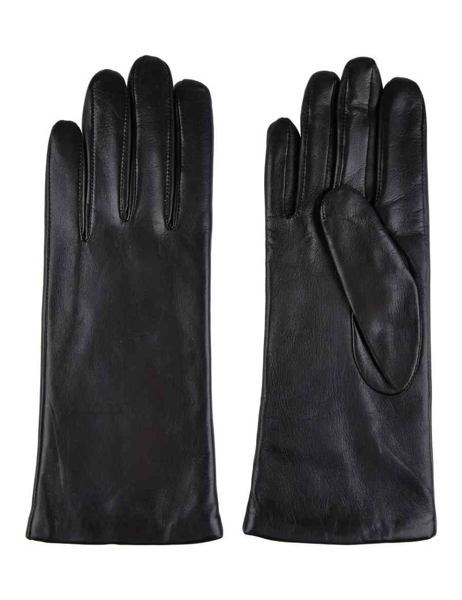 2a810966b8fe Cashmere Lined Leather Gloves