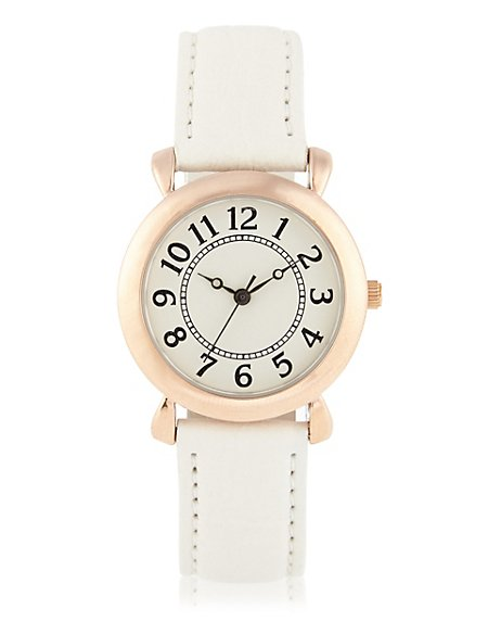 Round Face Vintage Style Inspired Watch
