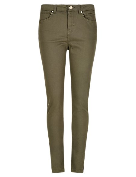 Roma Rise Cotton Rich 5 Pocket Jeggings