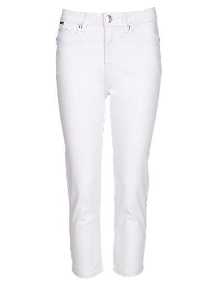Roma Slim Leg Cropped Jeans