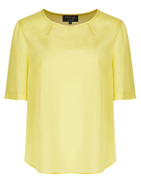 Speziale Pure Silk T-Shirt