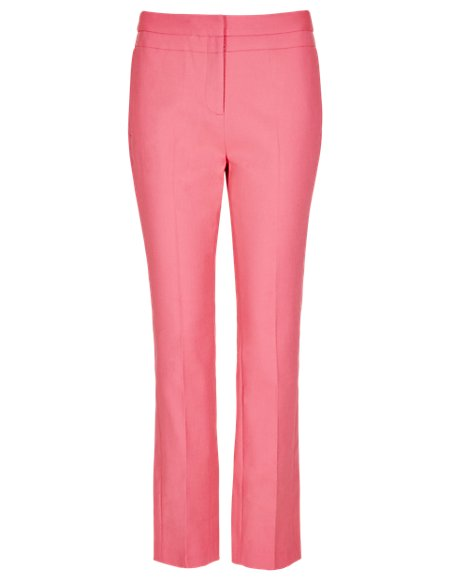 Speziale Zipped Pocket Tapered Leg Trousers