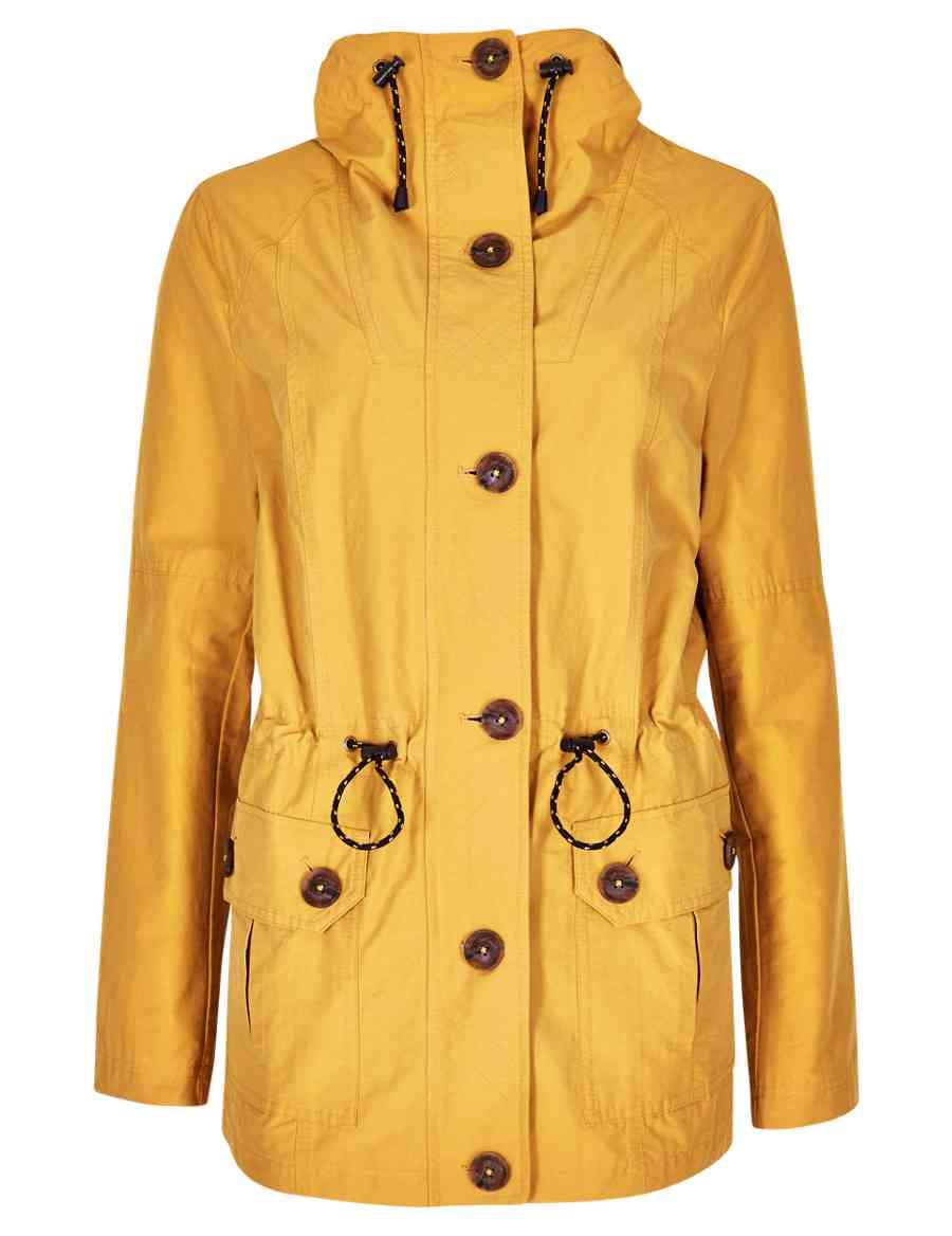 65d27f7c3e389 Adjustable Waist Hooded Mac with Stormwear™
