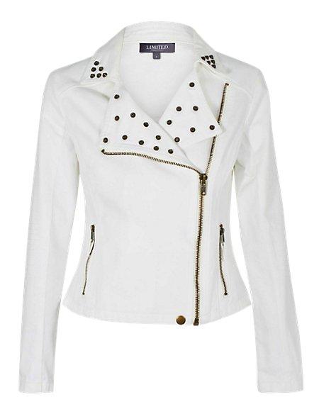 Hoxton Studded Denim Jacket