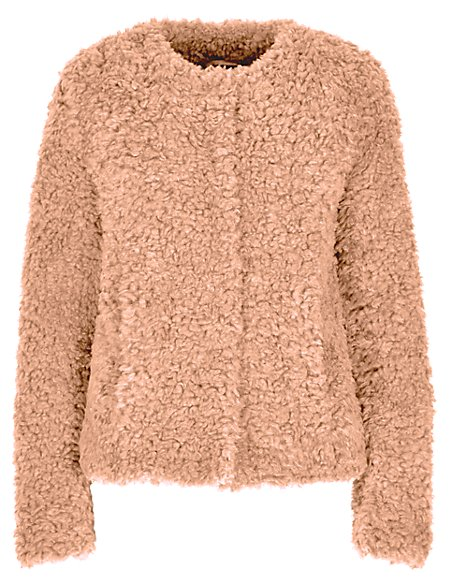 Faux Fur Fluffy Jacket