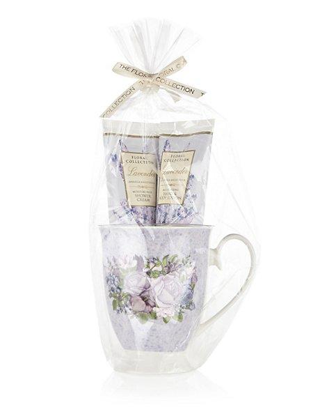 Lavender Mug Gift Set