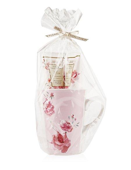 Rose Mug Gift Set