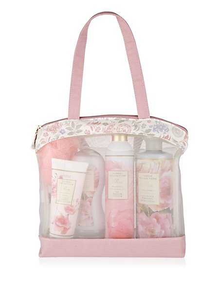 Rose Toiletry Gift Bag