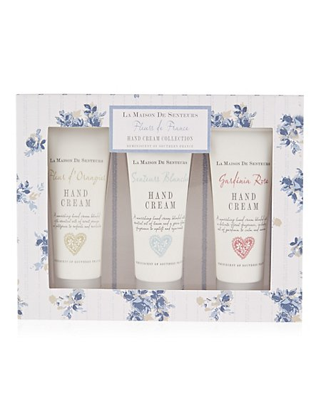 Fleur de France Hand Cream Collection