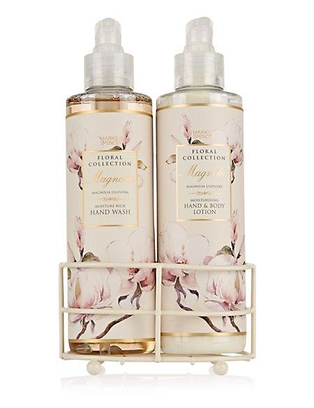 Magnolia Hand Wash & Lotion Set