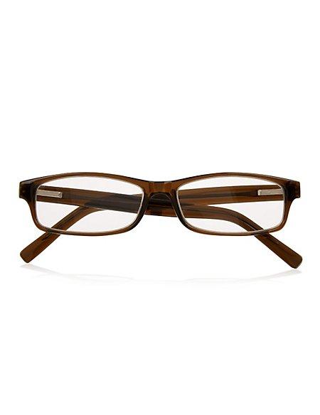 Oval Frame Reading Glasses