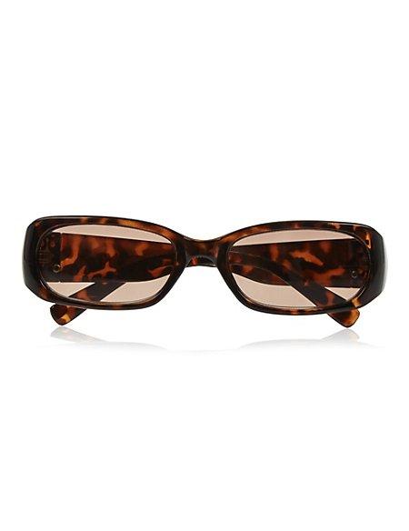Large Mock Tortoiseshell Reading Sunglasses