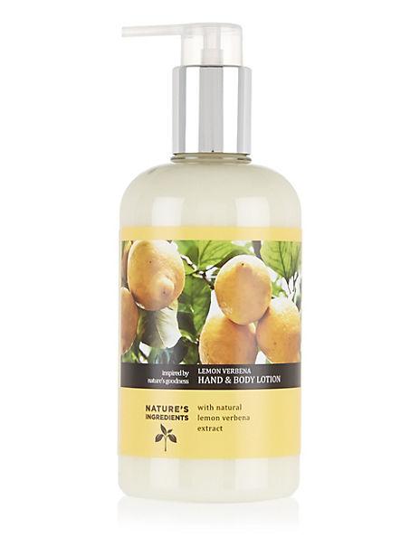 Lemon Verbena Hand & Body Lotion 300ml