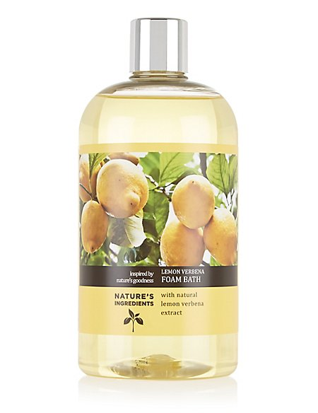 Lemon Verbena Foam Bath 500ml