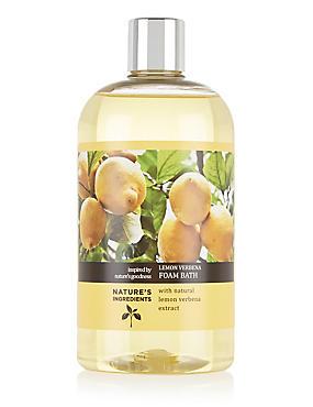 Lemon Verbena Foam Bath 500ml