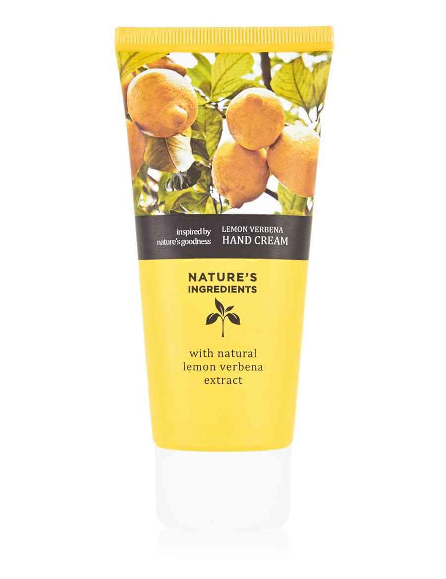 Lemon Verbena Hand Cream 100ml   Nature s Ingredients   M S 73e25dff9ad