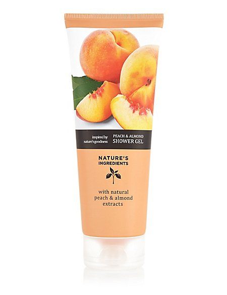 Peach & Almond Shower Gel 250ml