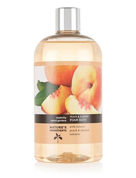 Peach & Almond Foam Bath 500ml