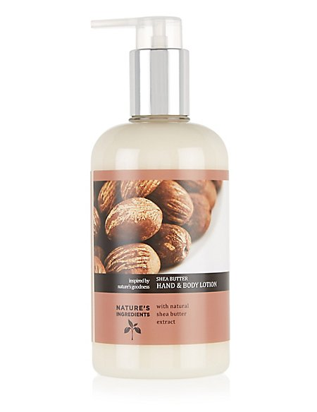 Shea Butter Hand & Body Lotion 300ml