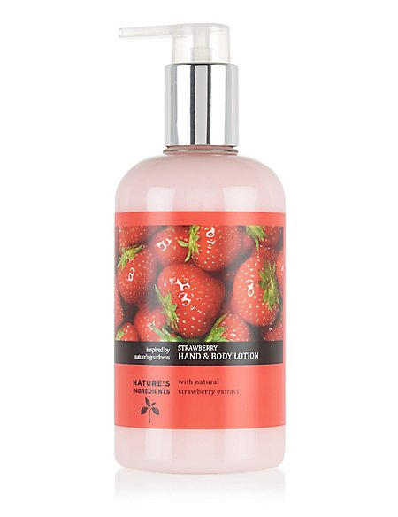 Strawberry Hand & Body Lotion 300ml