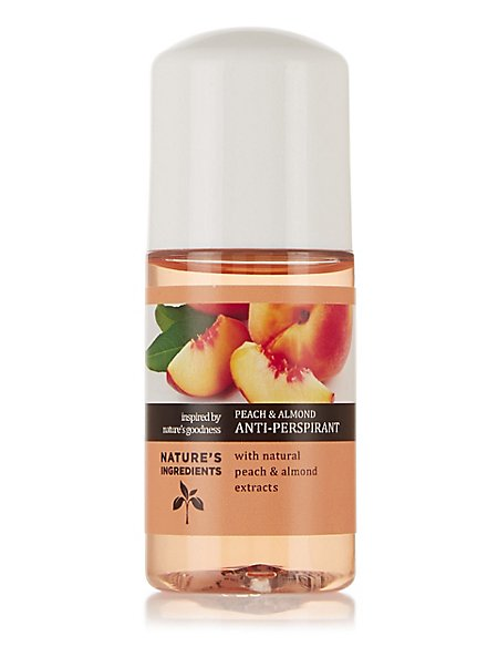 Peach Roll on Deodorant 50ml