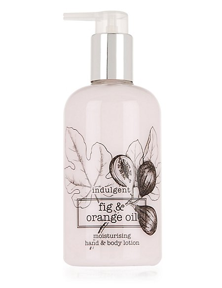 Indulgent Fig & Orange Oil Moisturising Hand & Body Lotion 300ml