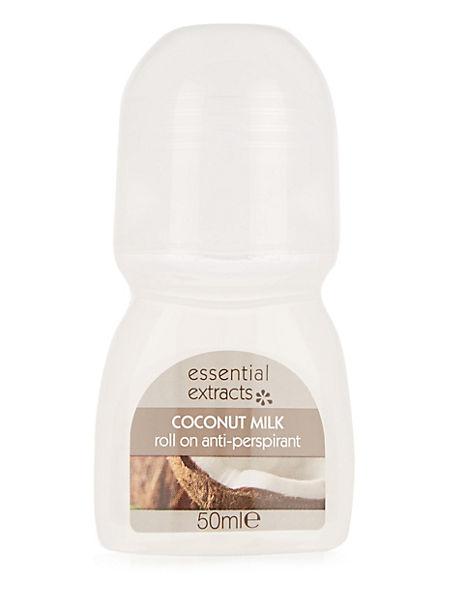 Coconut Milk Anti-Perspirant Roll-On 50ml