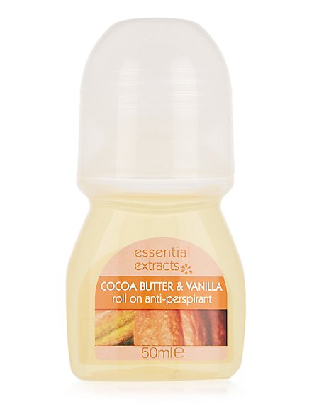 Cocoa Butter & Vanilla Anti-Perspirant Roll-On 50ml