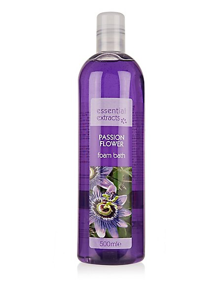 Passion Flower Foam Bath 500ml
