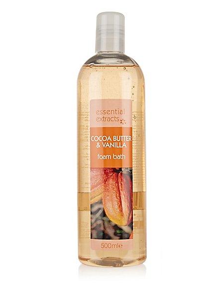 Cocoa Butter & Vanilla Foam Bath 500ml