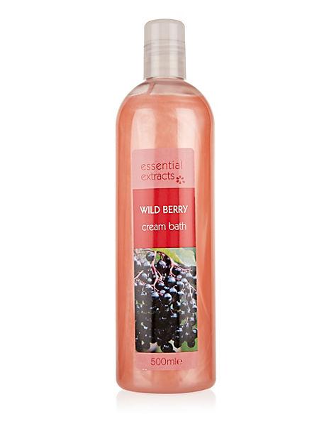 Wild Berry Cream Bath 500ml