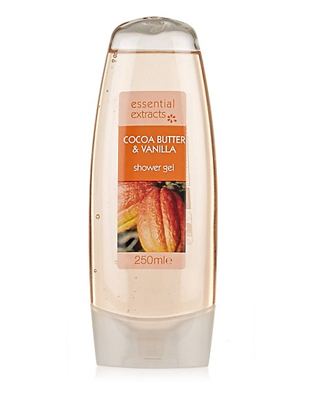 Cocoa Butter & Vanilla Shower Gel 250ml