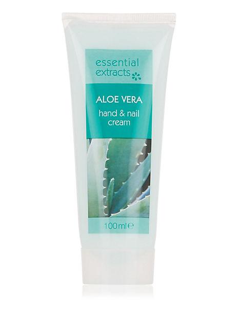 Aloe Vera Hand & Nail Cream 100ml