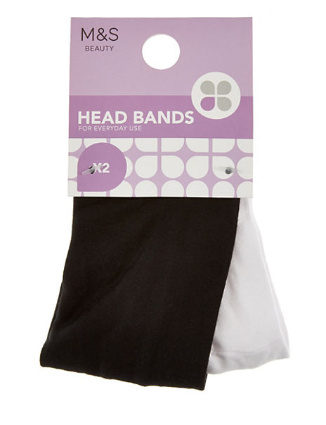 2 Pack Headbands
