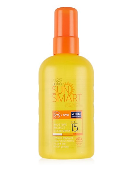 Moisture Protect Clear Spray SPF15 200ml
