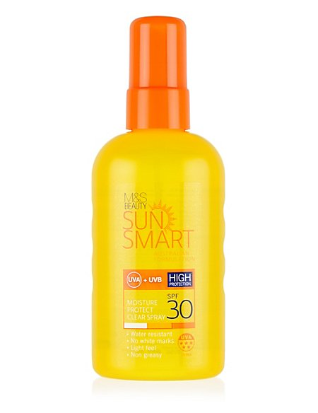 Moisture Protect Clear Spray SPF30 200ml