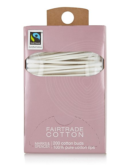 Fairtrade® Cotton Wool Buds