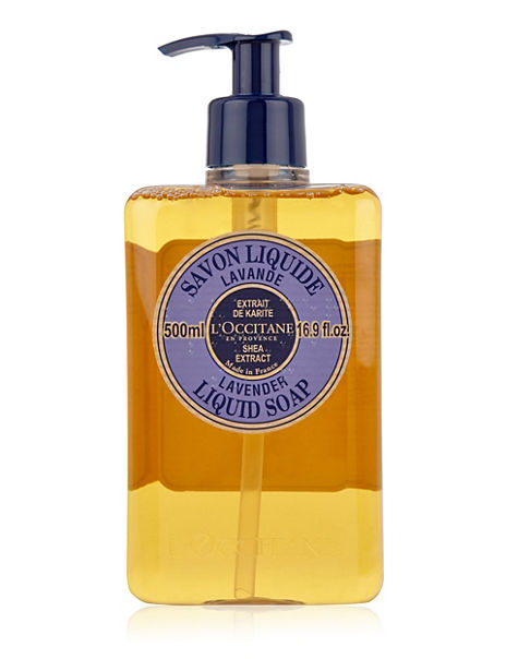 Shea Extract Lavender Liquid Soap 500ml