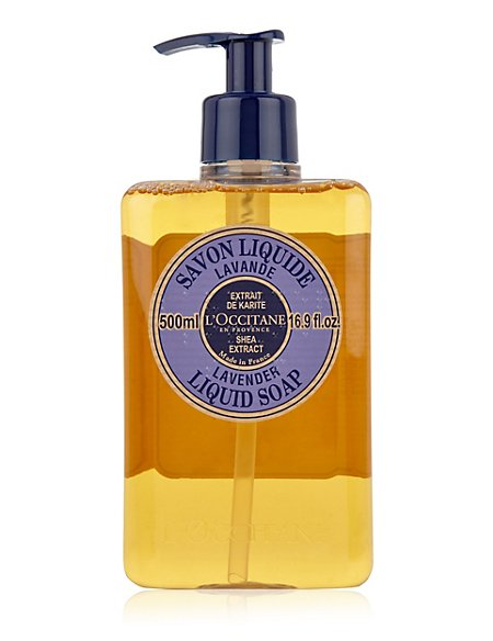 Shea Extract Lavender Liquid Soap 500ml