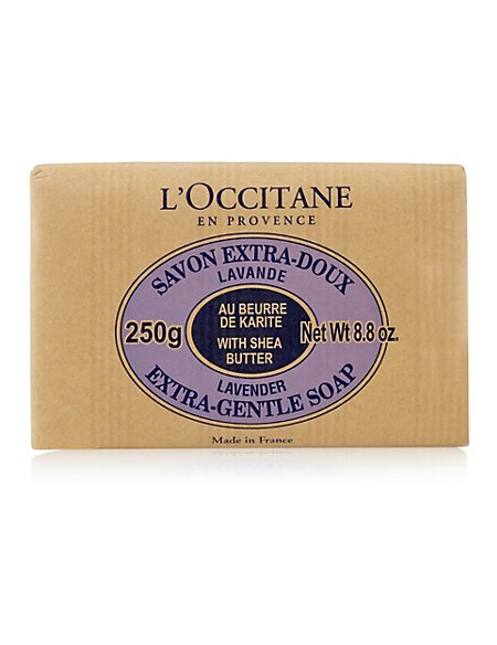 Lavender Shea Butter Extra Gentle Soap 250g