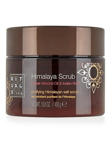 Sweet Almond Oil & Indian Rose Himalaya Scrub 450g