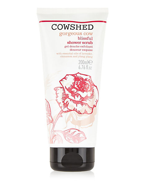 Gorgeous Cow Shower Scrub 200ml