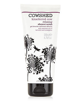 Knackered Cow Shower Scrub 200ml