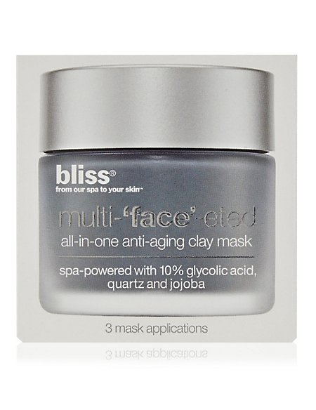 Multi-Faceted Clay Mask (Box of 3 x 4g)