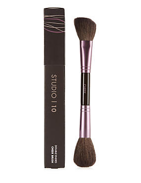 Double Ended Cheek Brush