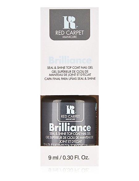 Brilliance Seal & Shine Top Coat Nail Gel 9ml